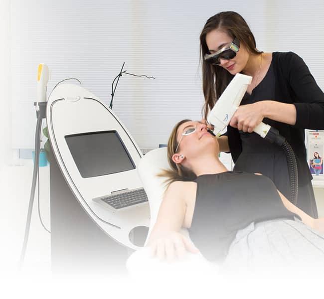 Laser treatment at Melbourne City Dermatology